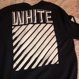 Off white sweater Large 200